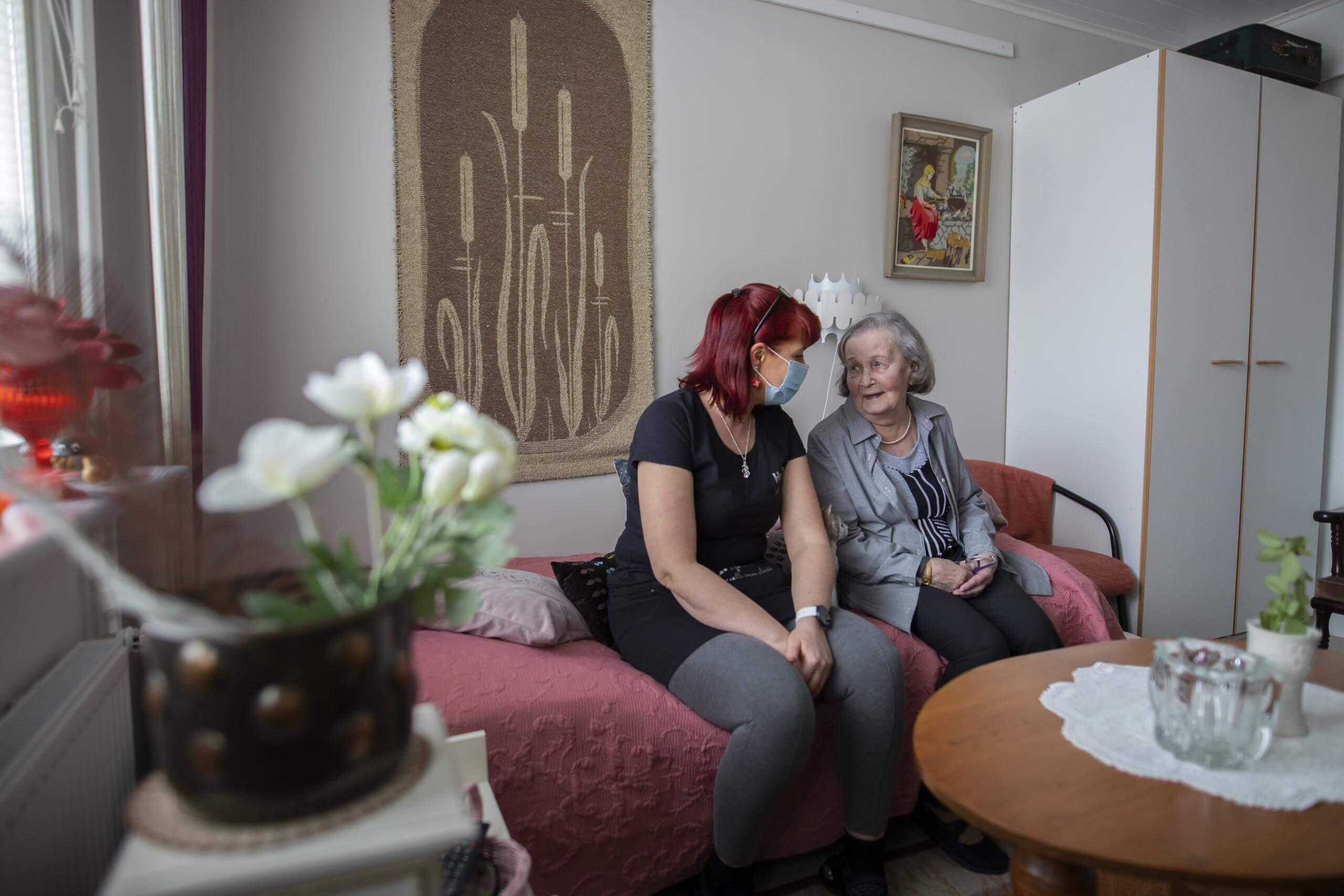 Hopeapuisto tarjoaa yksilöllistä hoivapalvelua